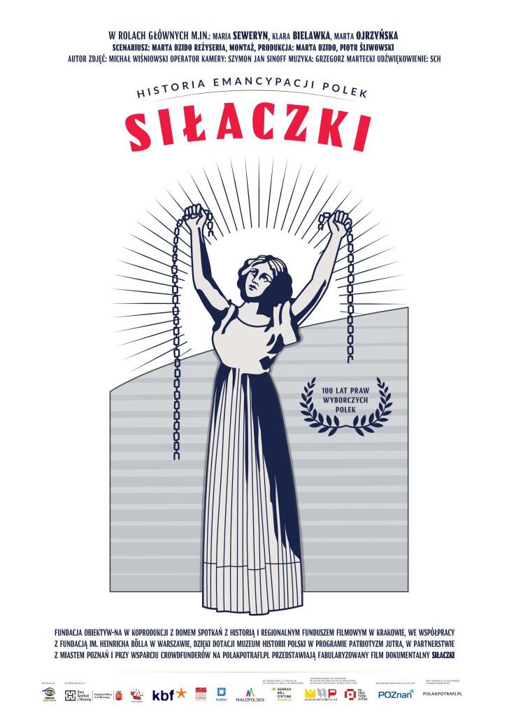 Film Silaczki - Plakat