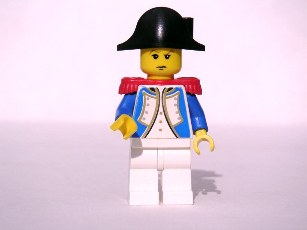 LEGO-Napoleon, Foto (cc-Lizenz): flickr.com/dunechaser